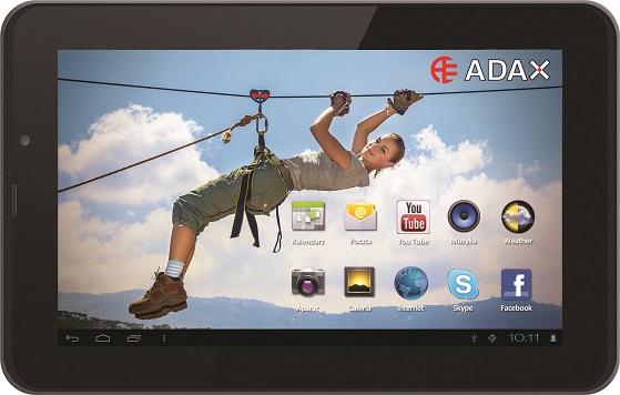 Adax: tablet i telefon w jednym