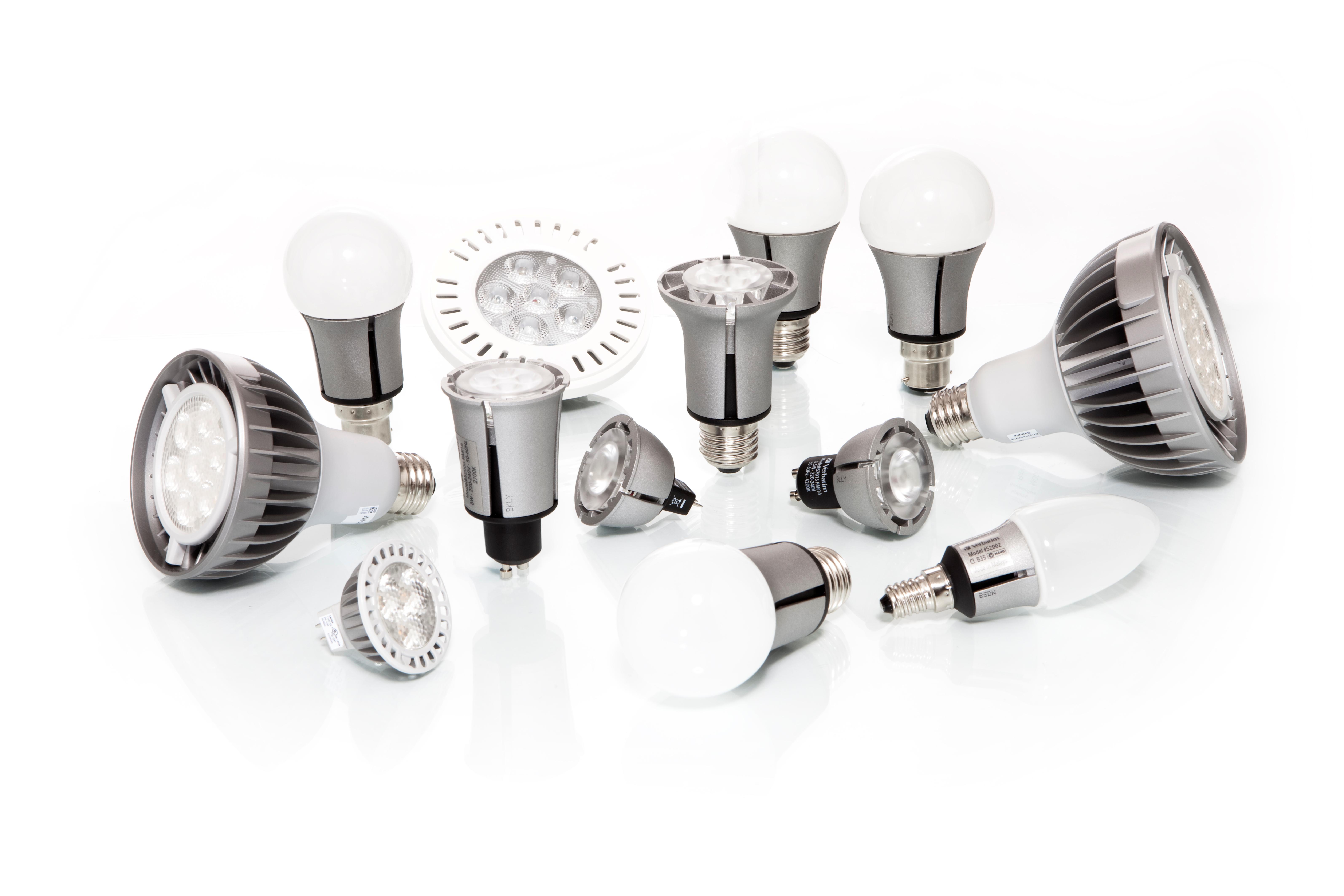 Verbatim: lampy LED dla sklepów