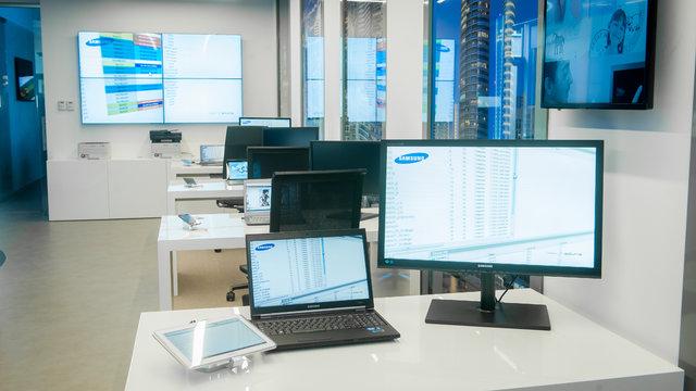 Samsung otworzył showroom dla firm