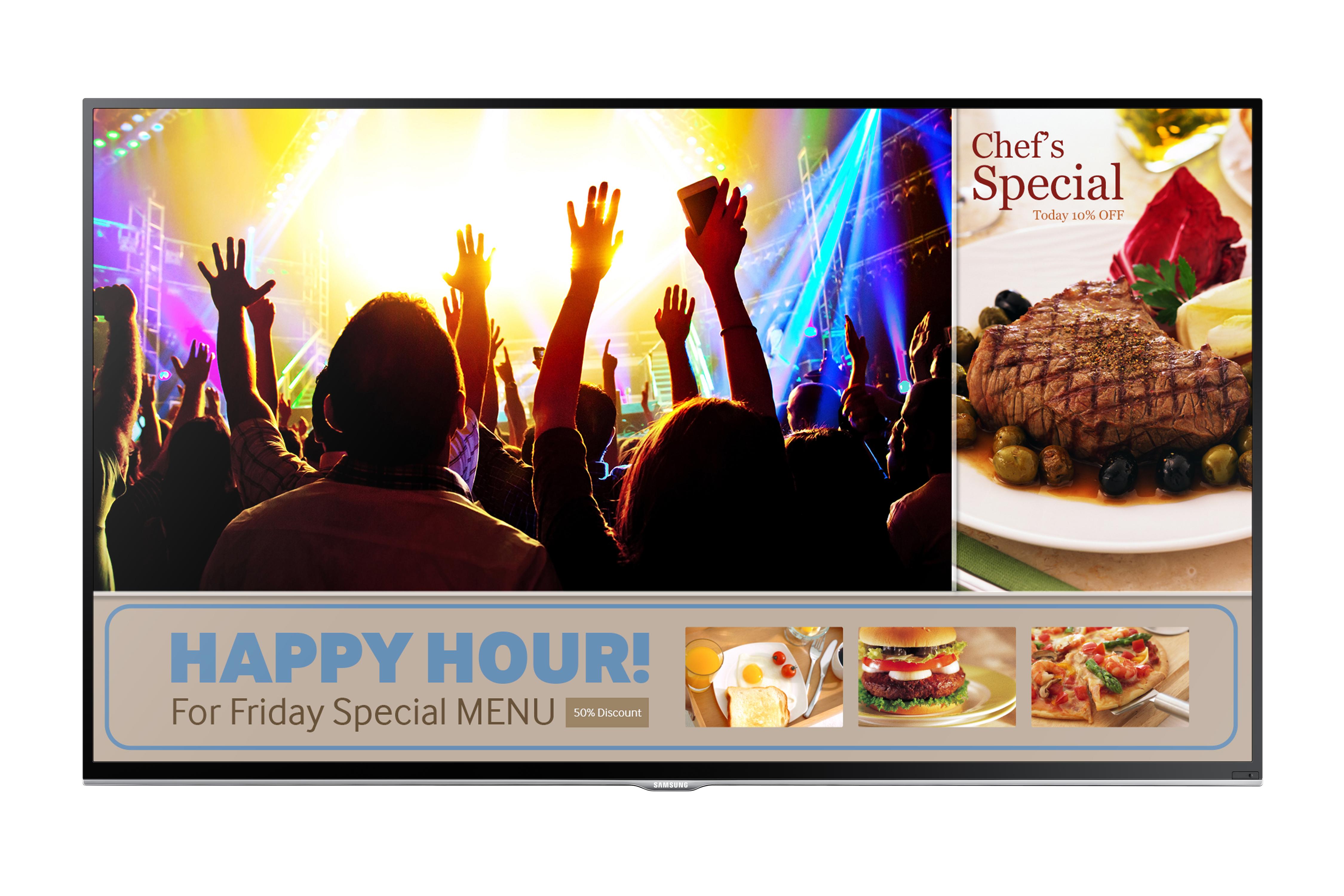 Samsung: telewizor – monitor dla firm