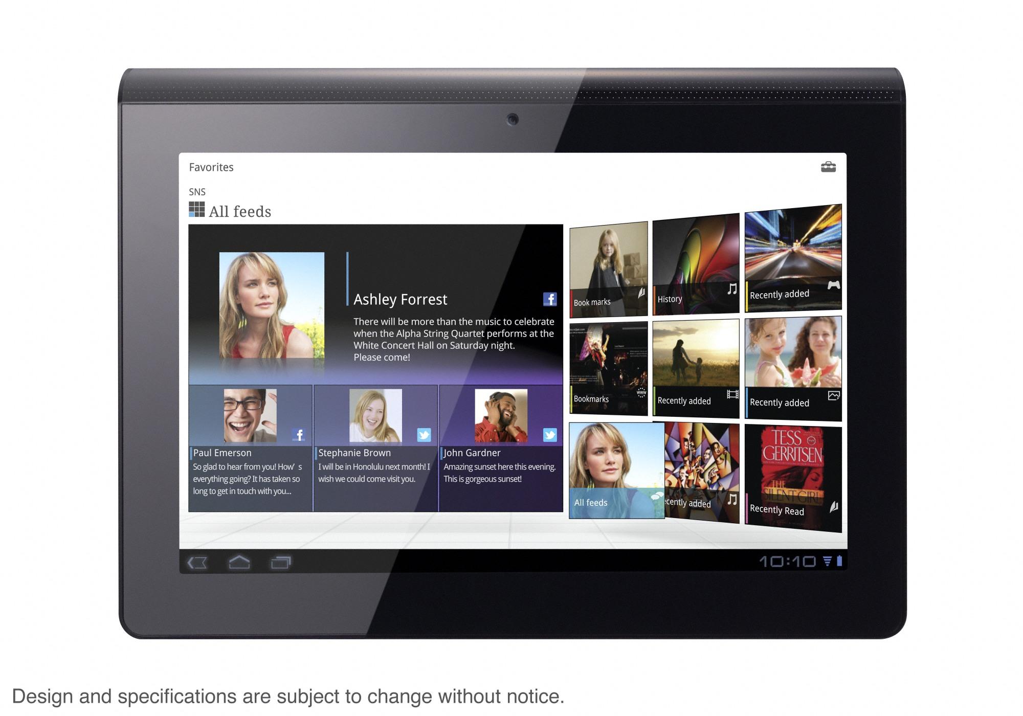 Sony: tablet z modemem