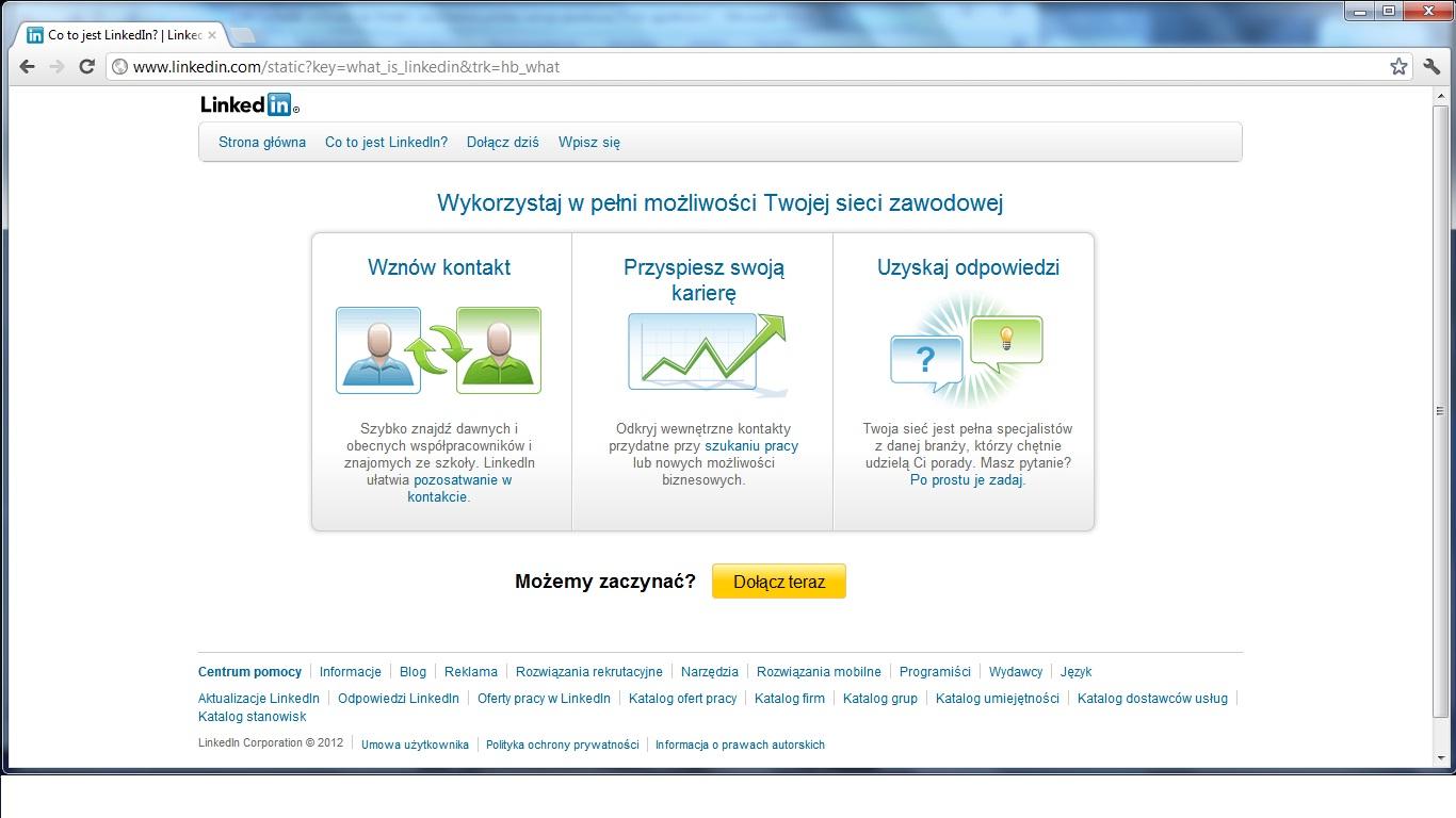 LinkedIn po polsku