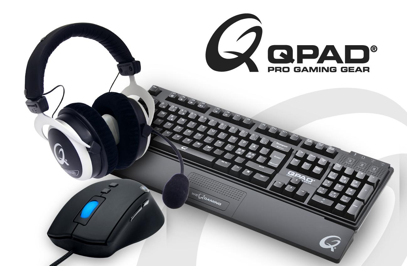 Akcesoria dla graczy marki QPAD w Alstorze