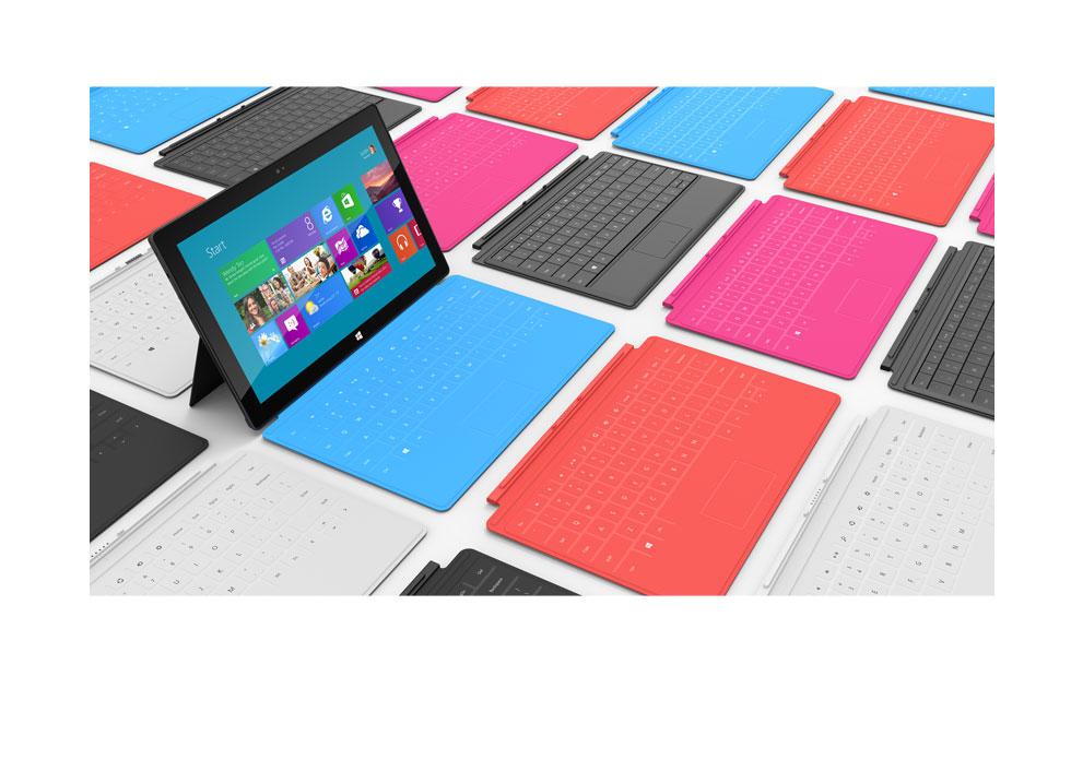Microsoft sprzedał milion tabletów