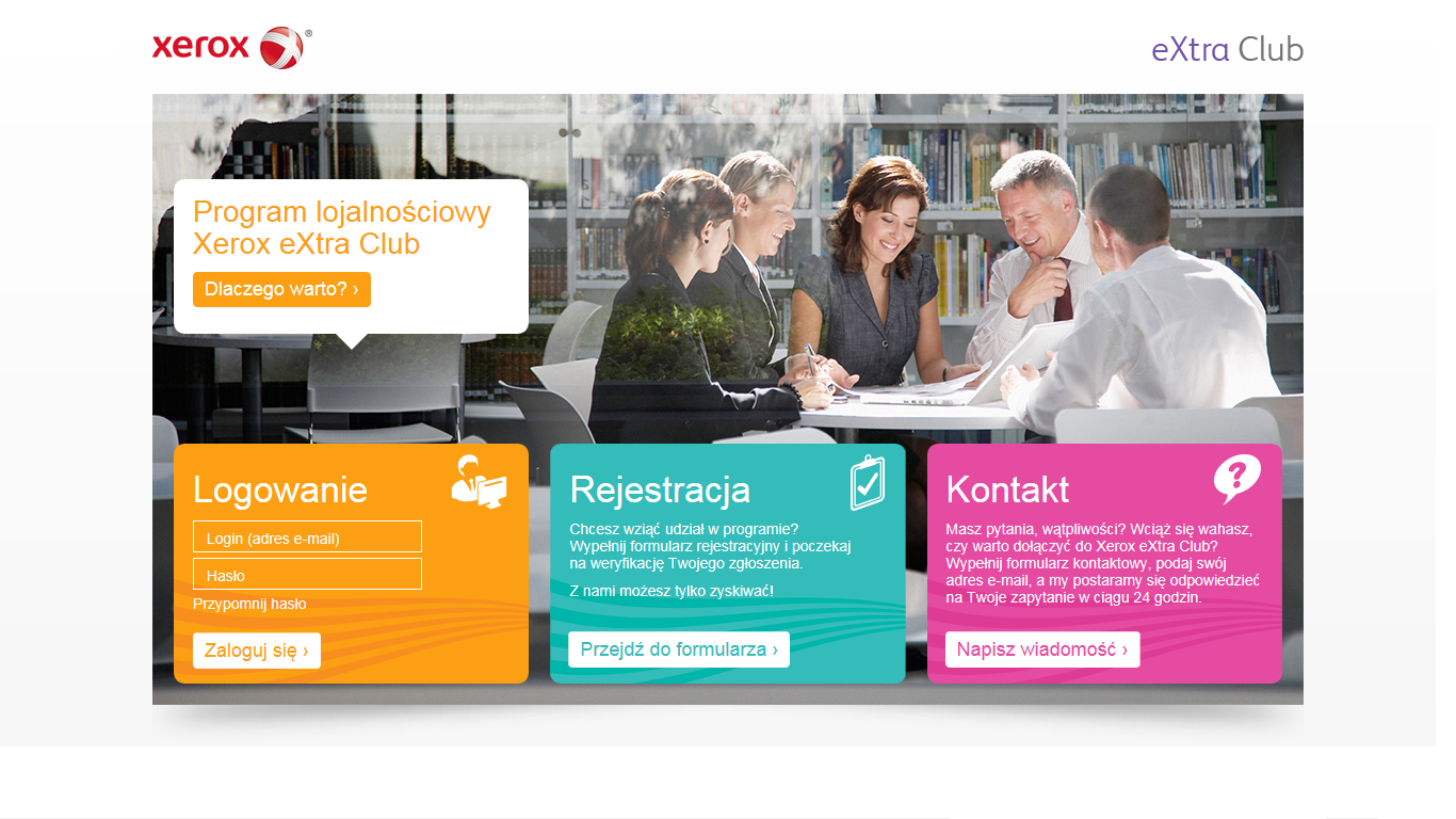 Xerox: nowy program bonusowy dla handlowców