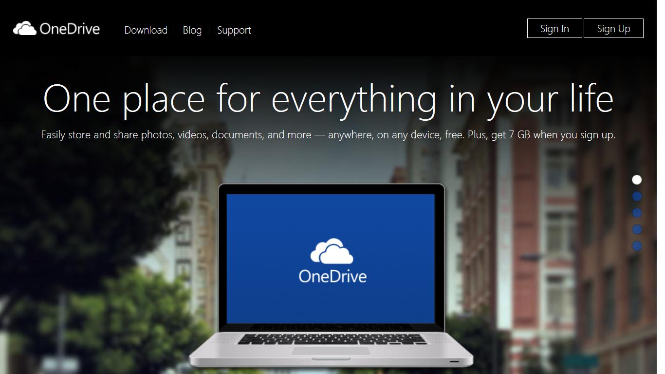 Microsoft udostępnił OneDrive