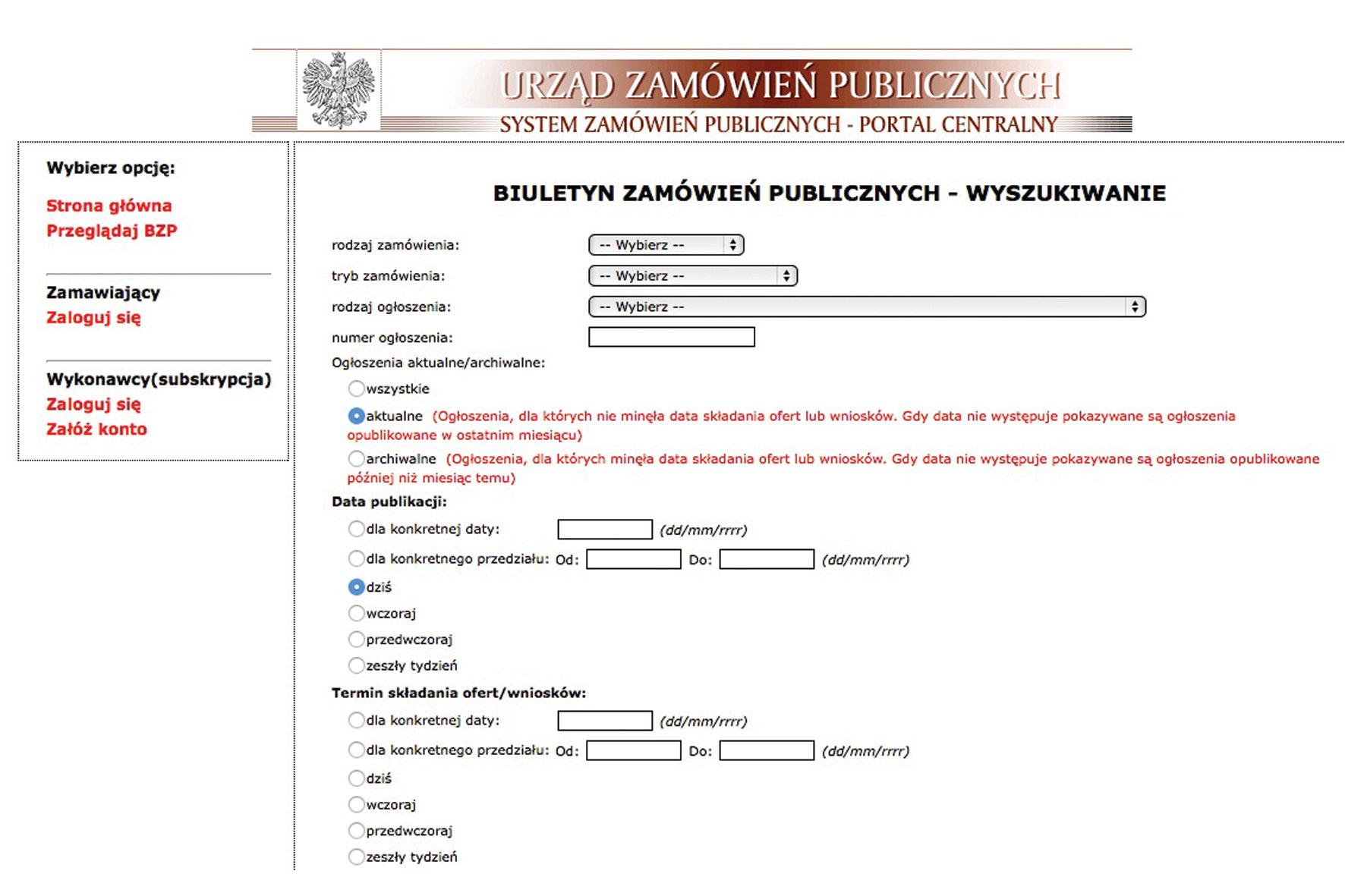 Przetargi publiczne – wprowadzenie