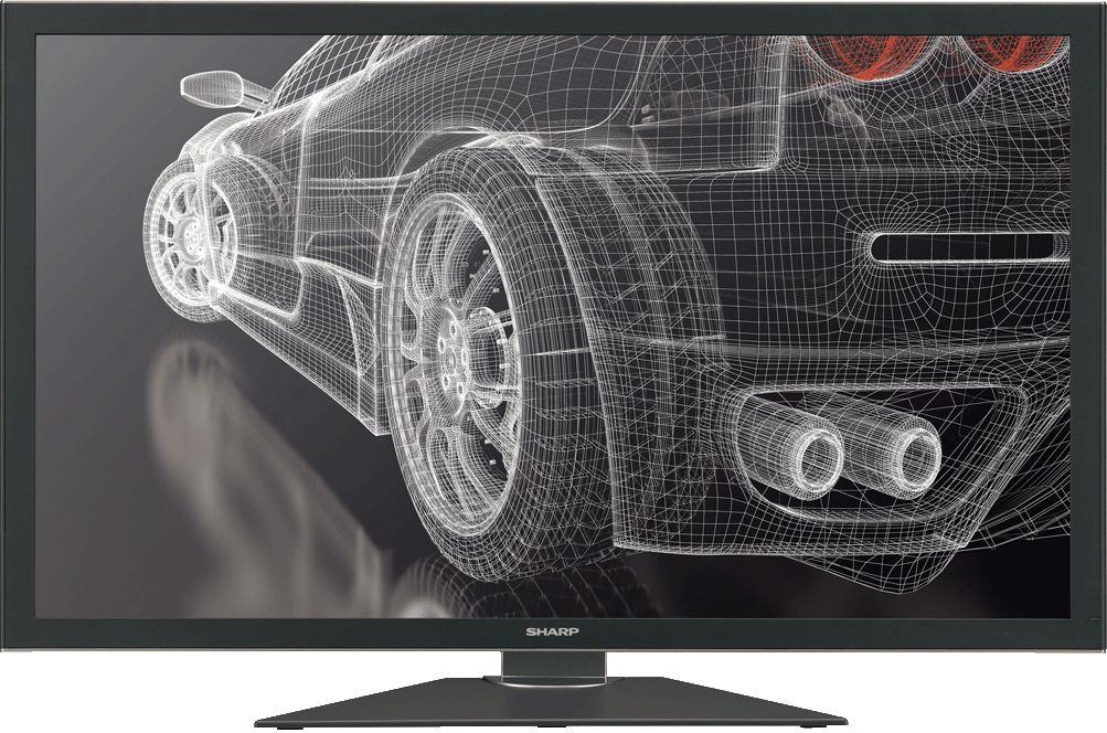 Sharp: monitor Igzo o rozdzielczości Quad Full HD