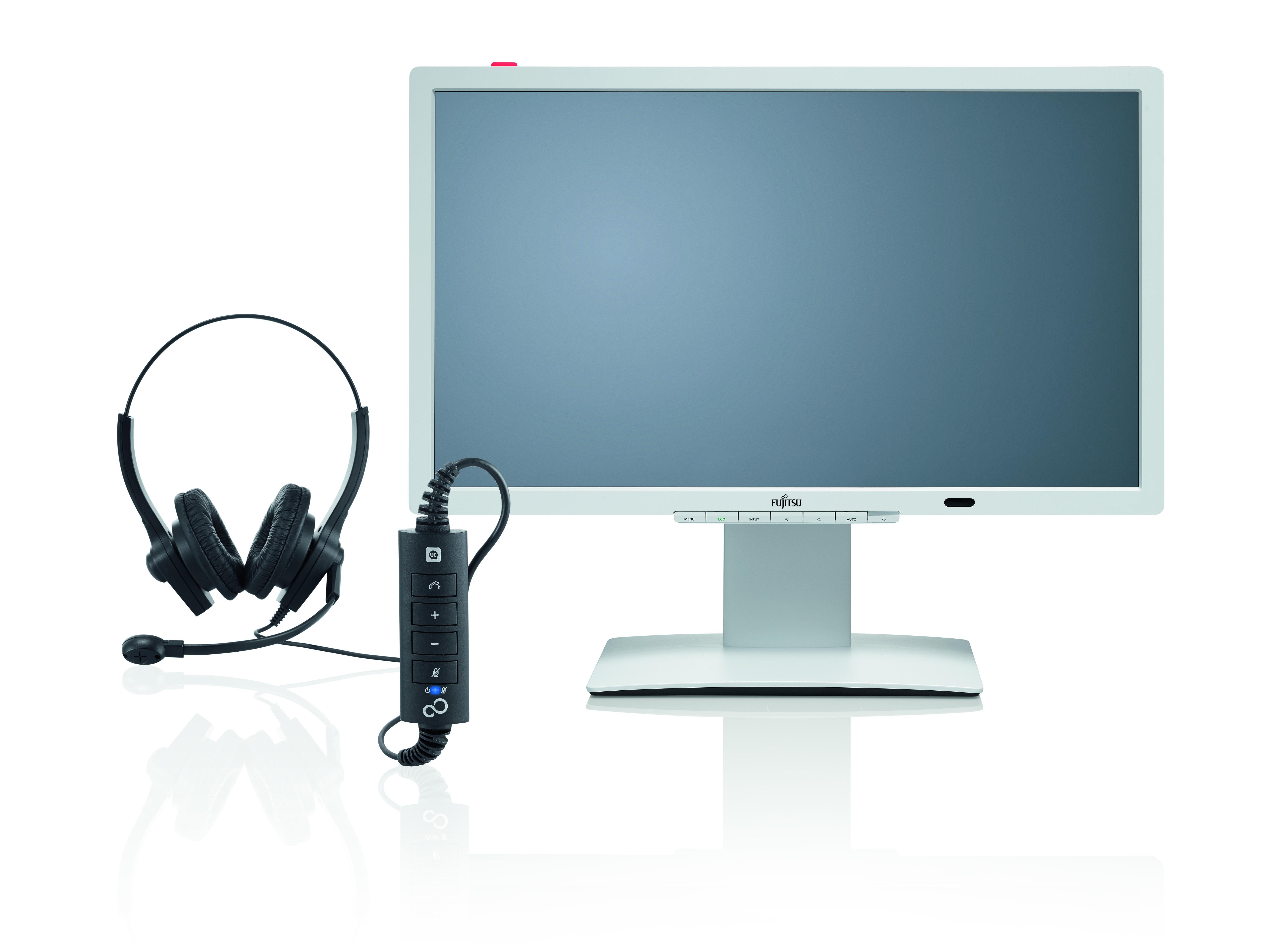Fujitsu: monitor dobry do rozmowy