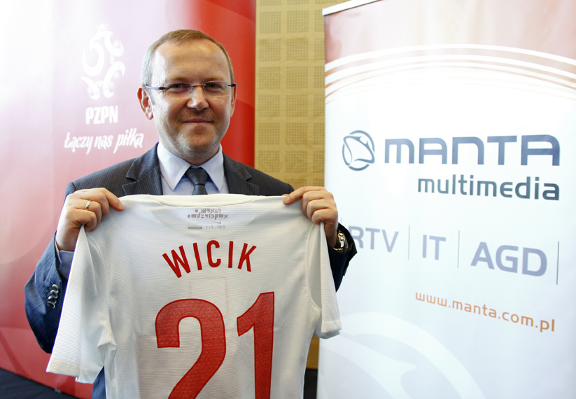 Manta Multimedia oficjalnym partnerem Reprezentacji Polski w Piłce Nożnej