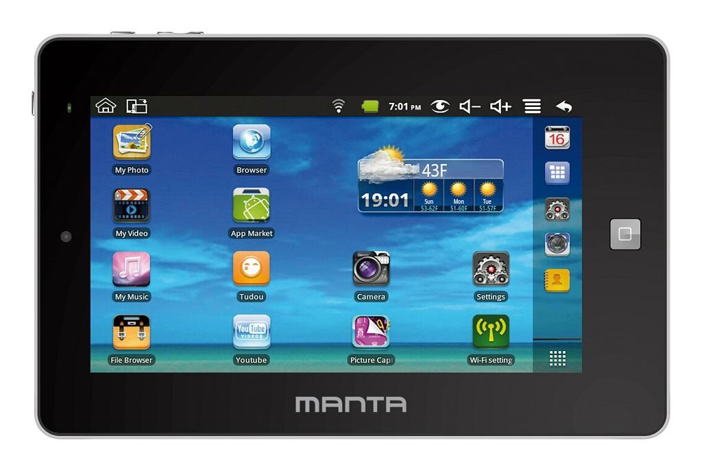 Manta: 7-calowy tablet