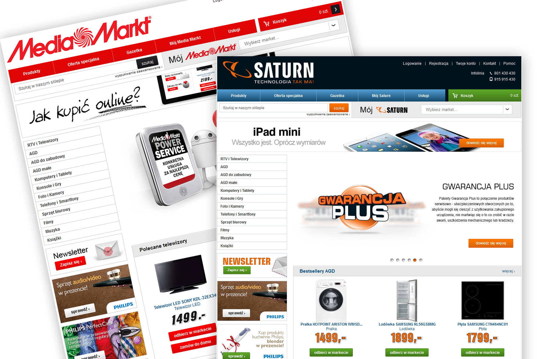 Media Saturn w Internecie