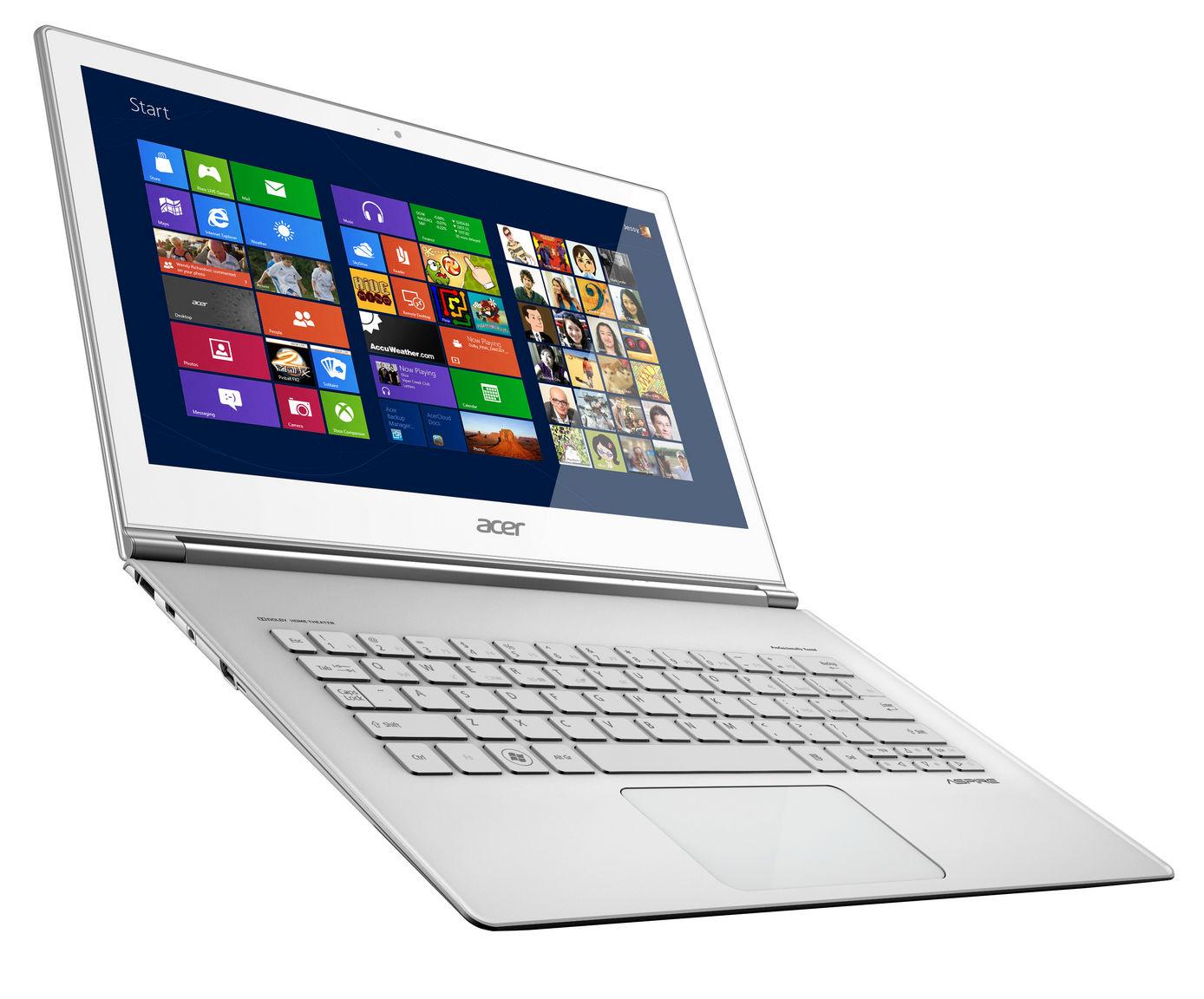 Acer: ultrabook z ekranem dotykowym
