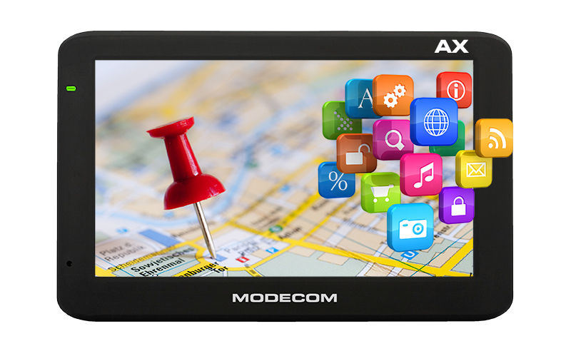 Modecom: nawigacja jak tablet