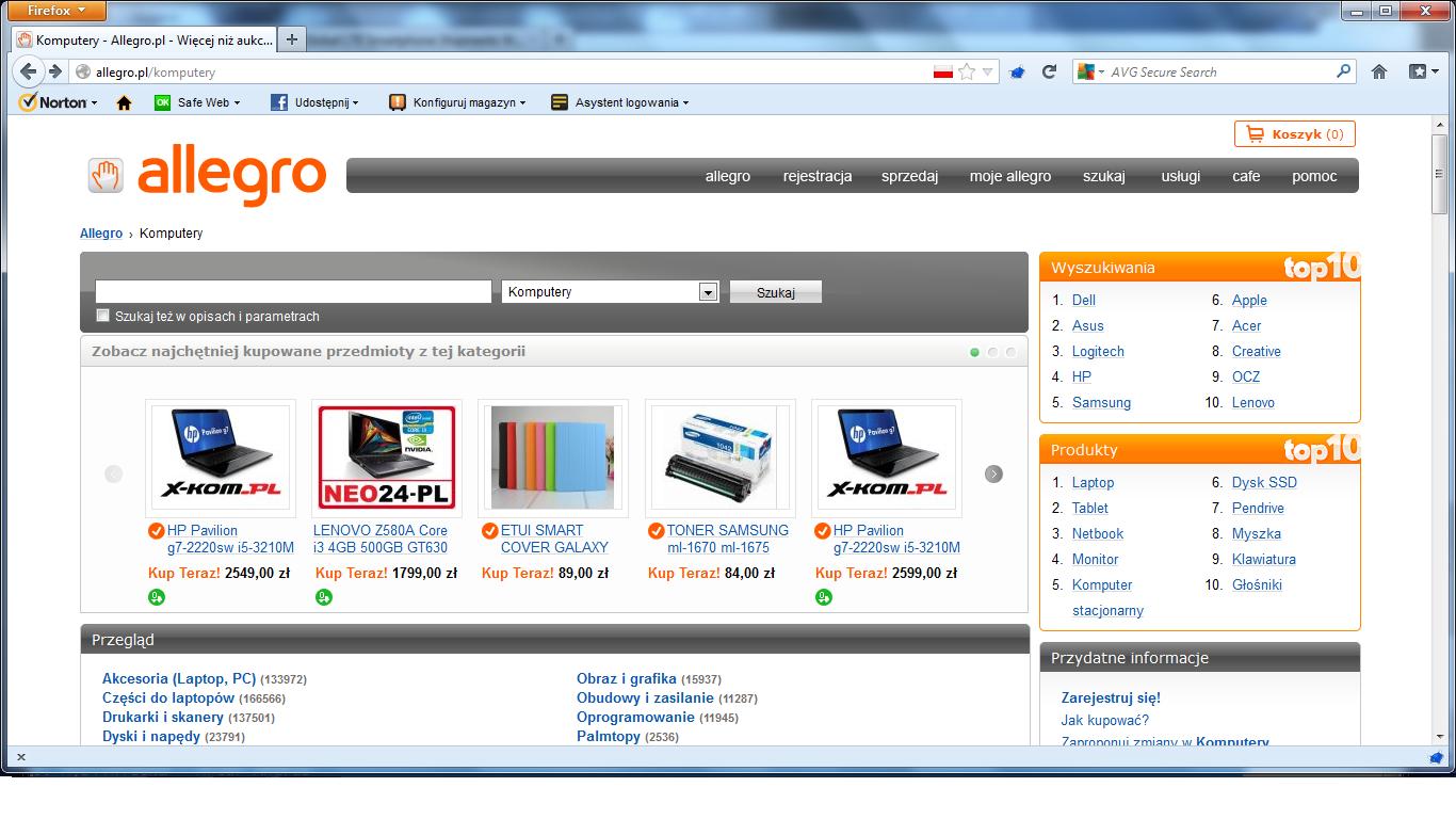 Allegro: Lenovo najpopularniejszą marką