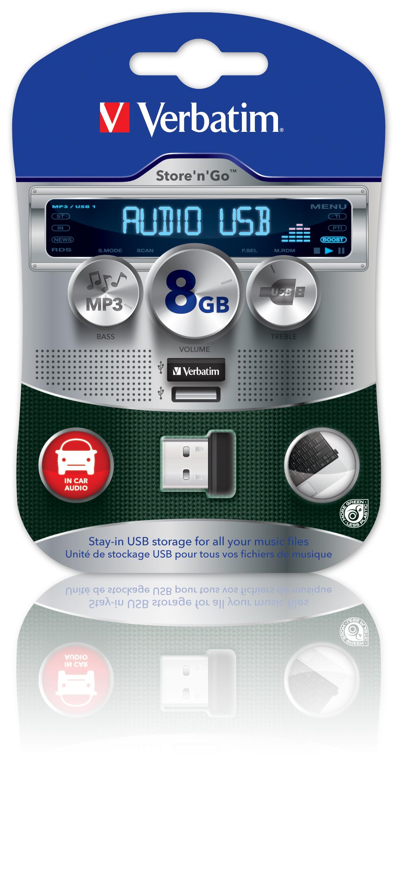 Verbatim: miniaturowy napęd USB dla zmotoryzowanych