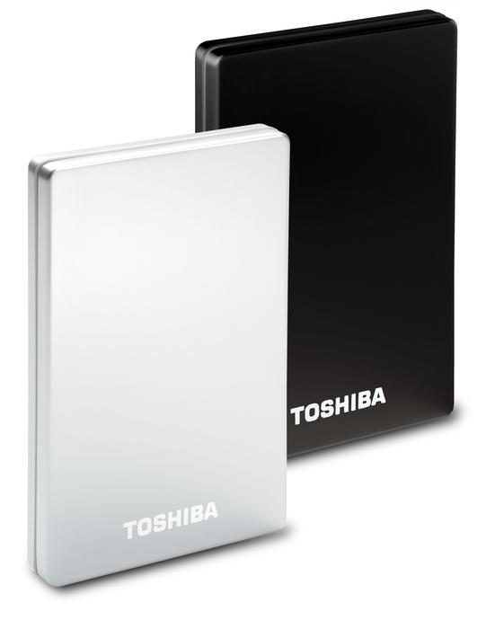 2 TB na dysku zewnętrznym Toshiby