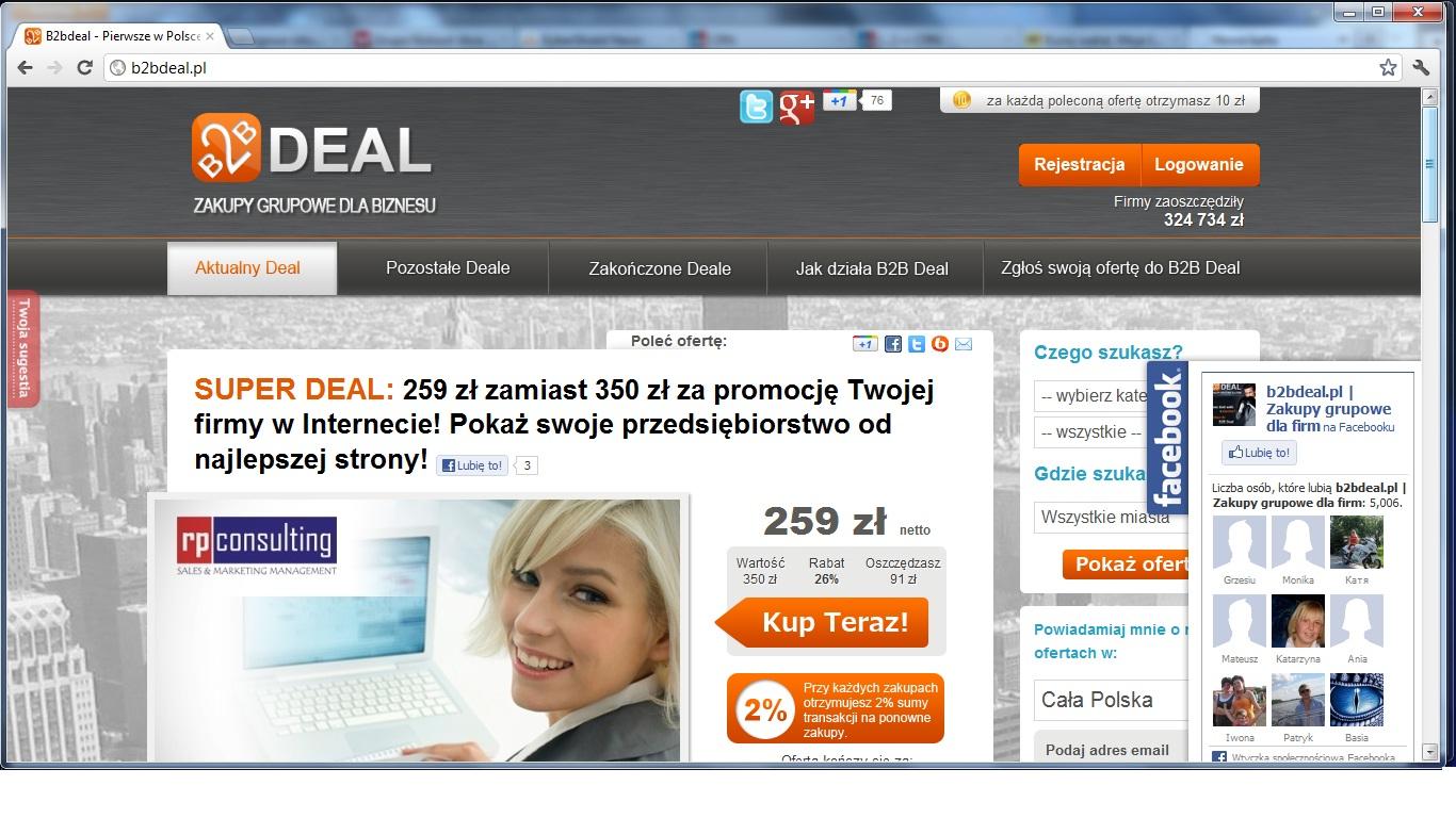 B2Bdeal chce stworzyć Allegro dla firm