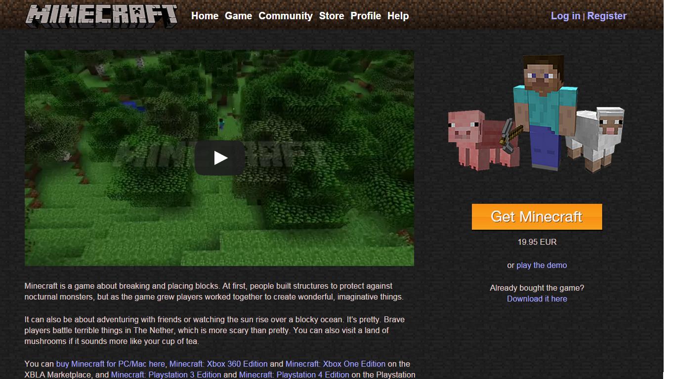Microsoft kupuje producenta gry Minecraft za 2,5 mld dol.