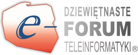 Transmisja online z otwarcia XIX Forum Teleinformatyki