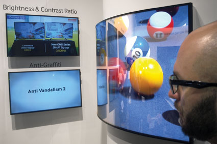 Samsung na ISE: Digital Signage dla partnerów