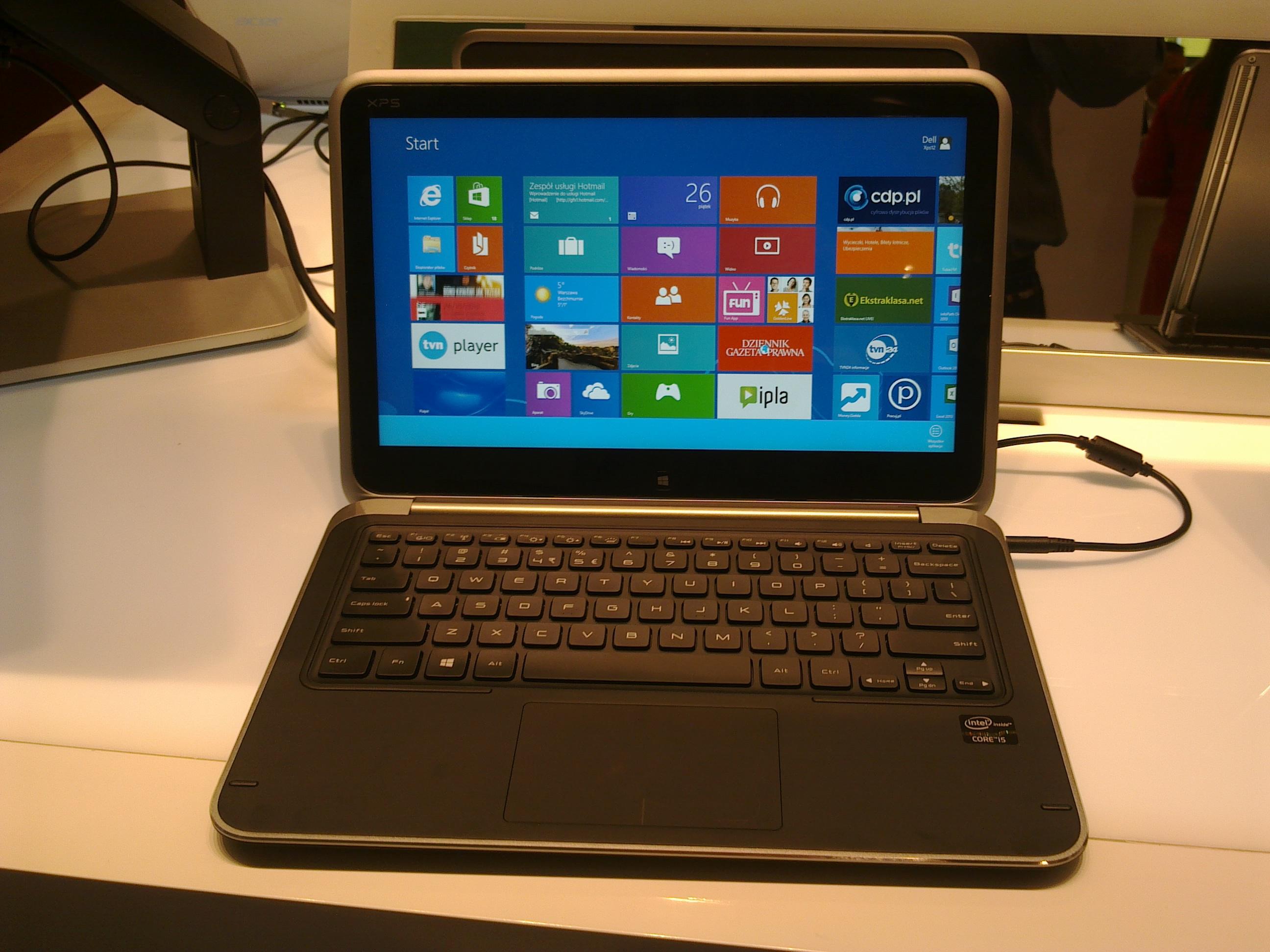 Spada sprzedaż po premierze Windows 8