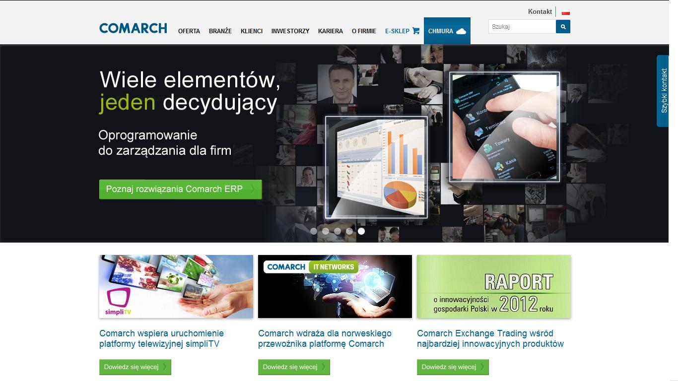 Comarch zbuduje nowe centrum danych