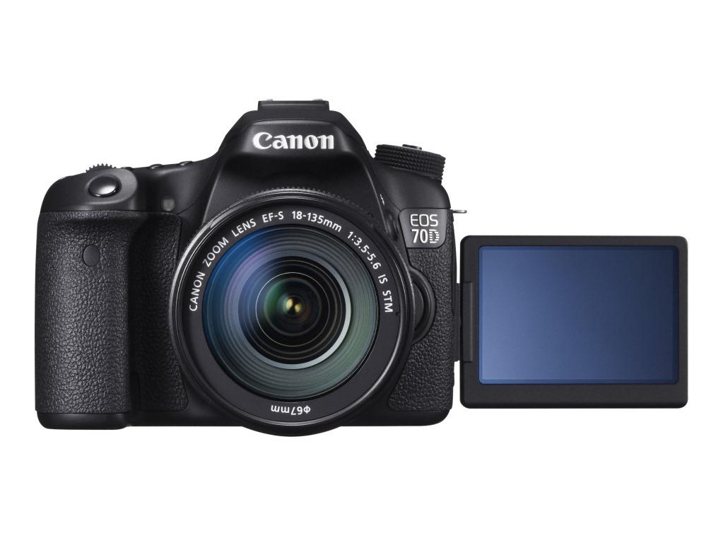 Canon: 20-megapikselowy EOS 70D