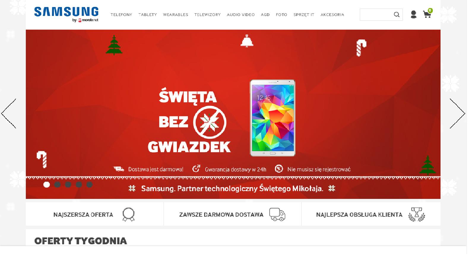 Strefa Samsunga w Morele.net