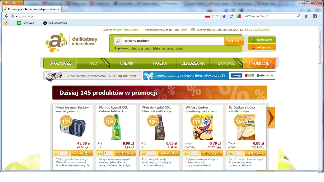 Action może stracić na upadłości A.pl Internet