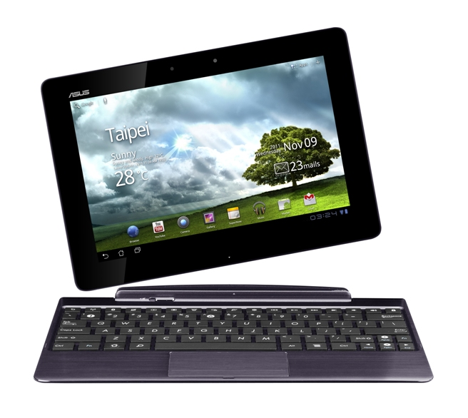Asus na CES: tablety z czterema rdzeniami i ekranem full HD