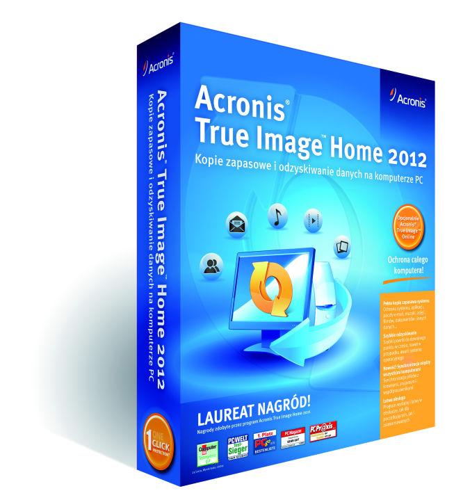 Acronis: True Image Home w wersji 2012