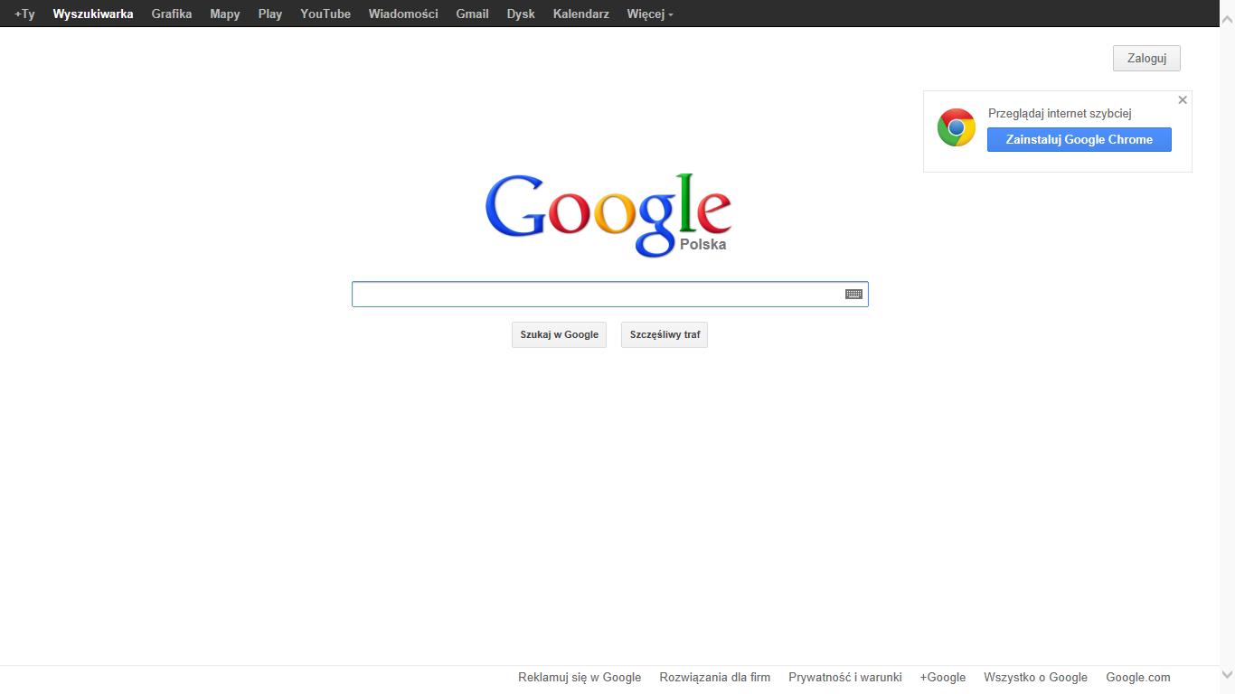 """""""Zatrzymajcie Google!"""""""
