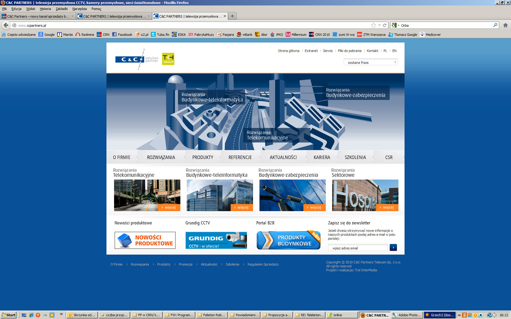 C&C Partners – online'owa sprzedaż b2b