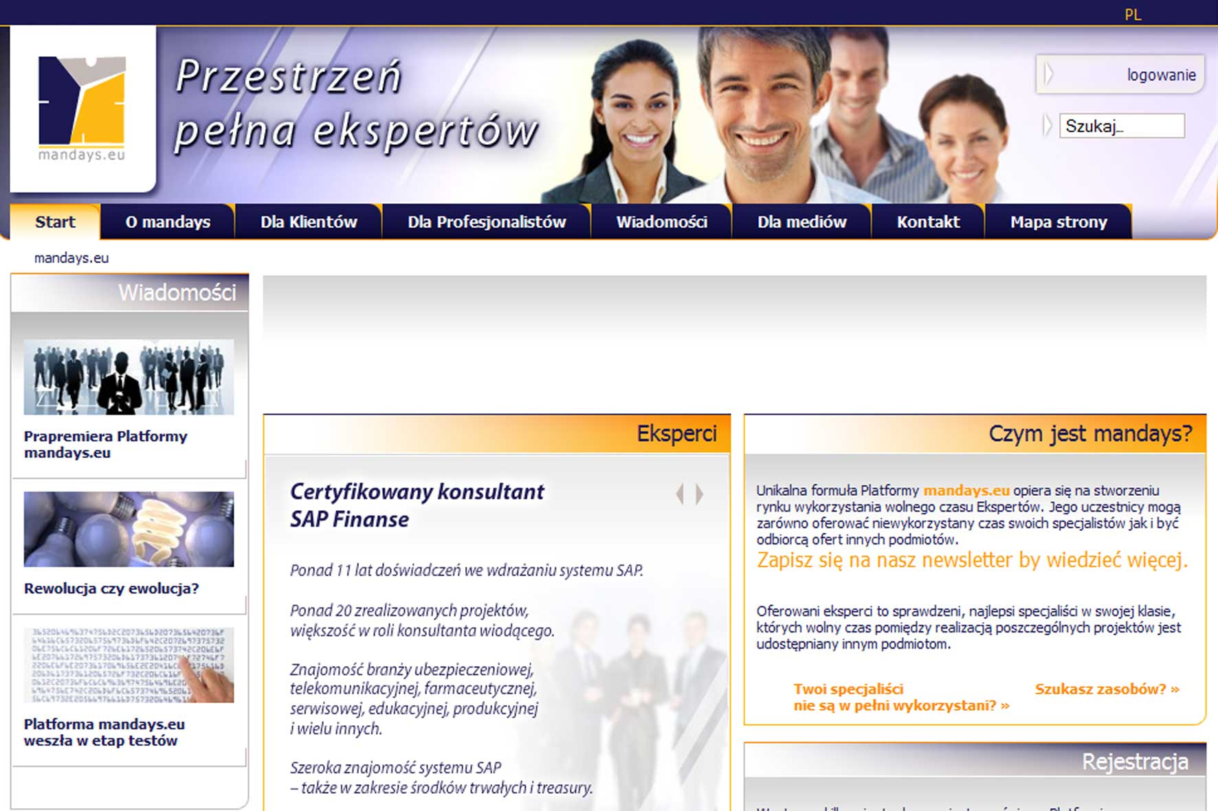 Umów się przez sieć z konsultantem SAP-a