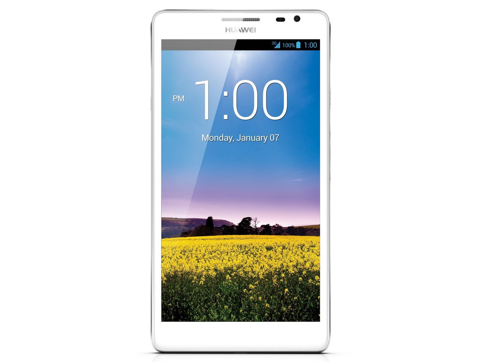 Huawei: biały phablet i modemy