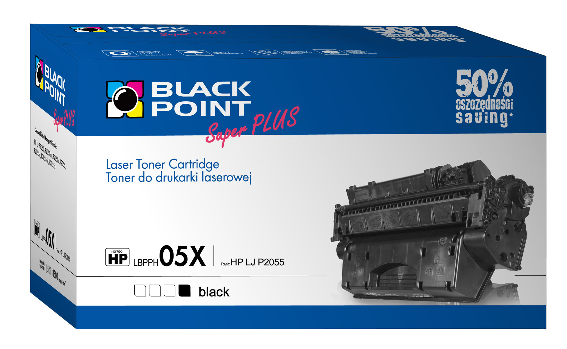 Black Point: dwa tonery Super Plus