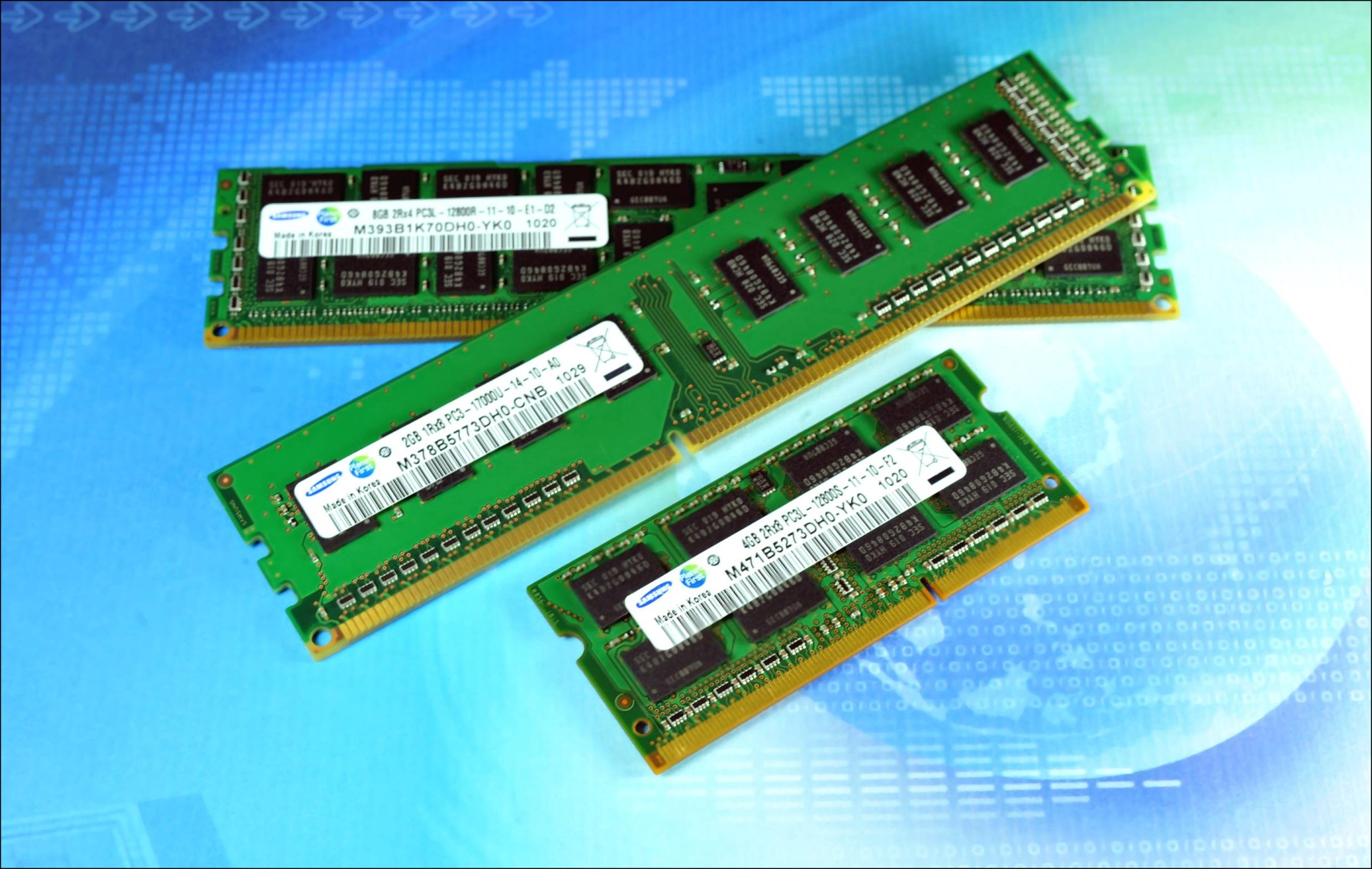 Rekordowa sprzedaż pamięci DRAM