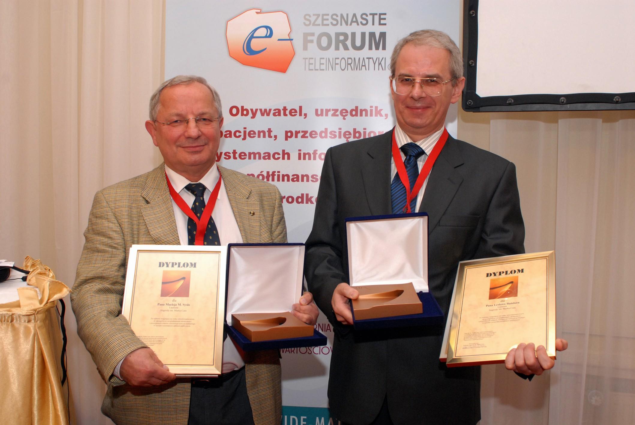 Wręczono Nagrody im. Marka Cara