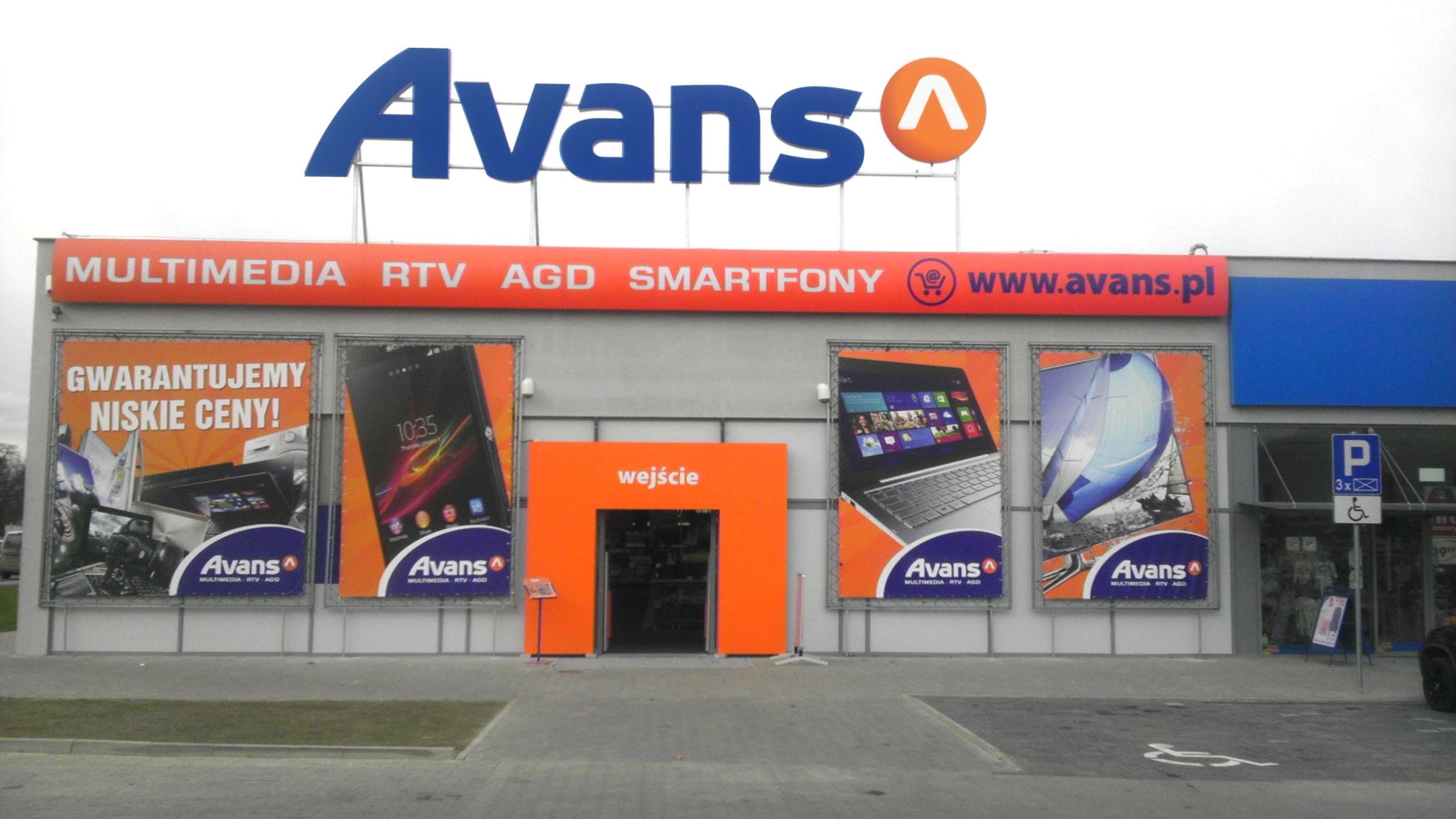 Więcej marketów Avansu