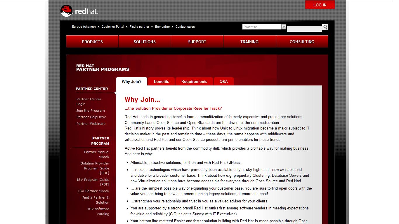 Red Hat z nowym programem partnerskim