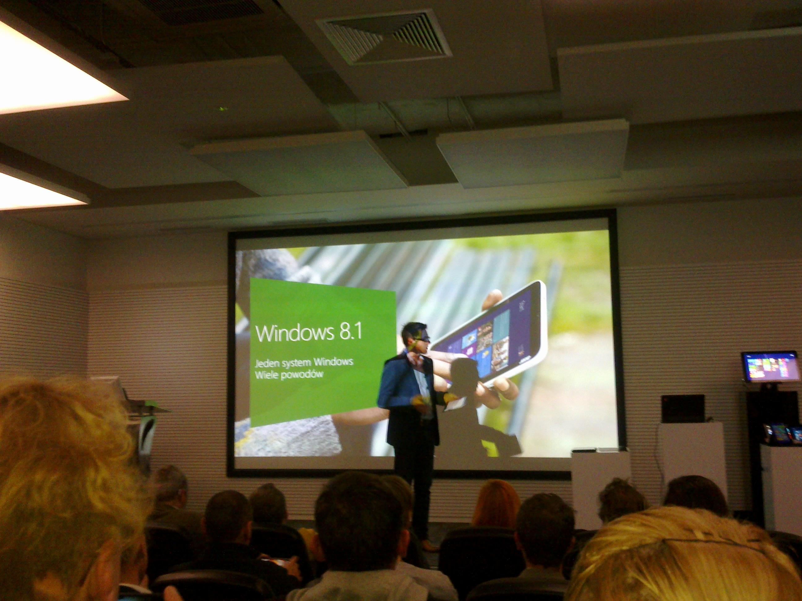 Windows 8.1 wystartował w Polsce