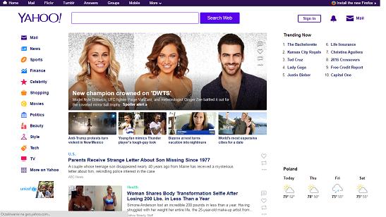 Kłopoty ze sprzedażą Yahoo