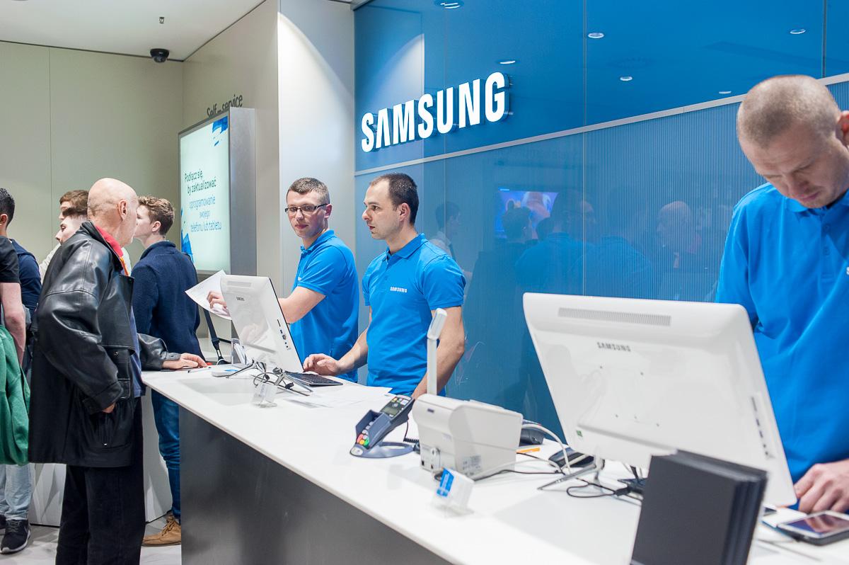 Samsung: kolejny sklep firmowy w Polsce