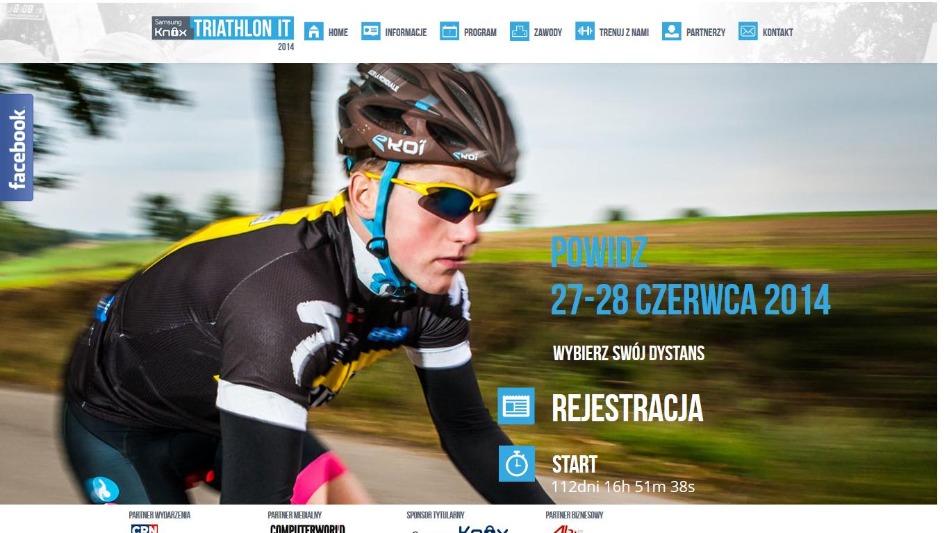 Ruszyła strona Triathlonu IT 2014