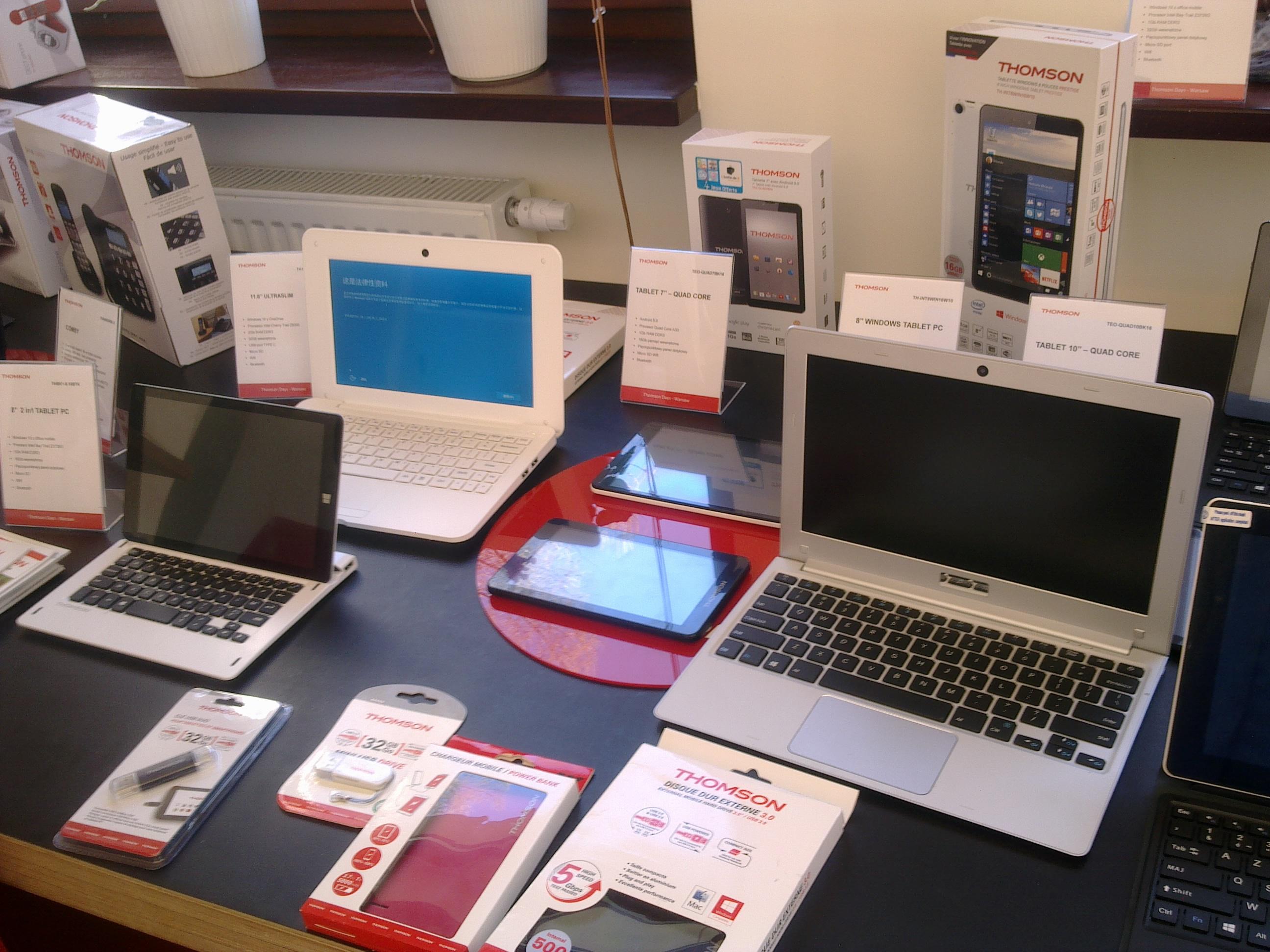 Thomson wchodzi na polski rynek laptopów i tabletów