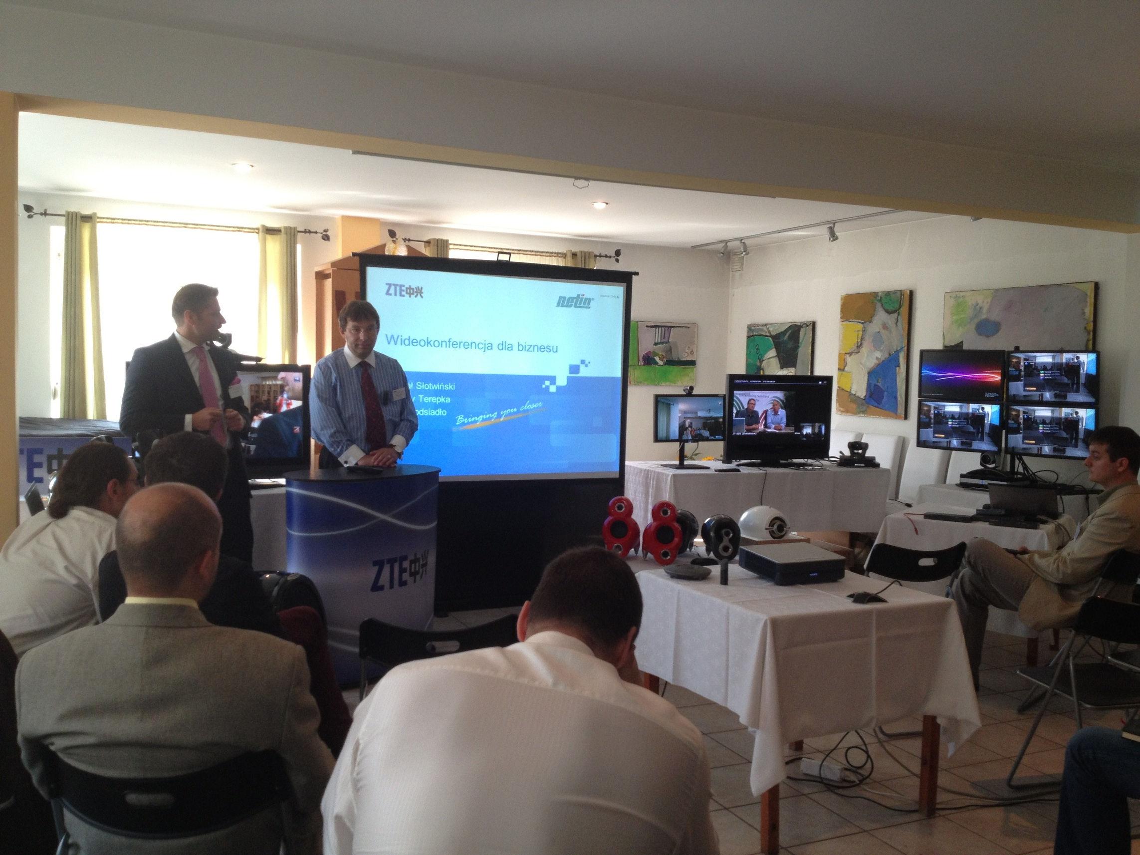 Netin dystrybutorem systemów wideokonferencyjnych ZTE