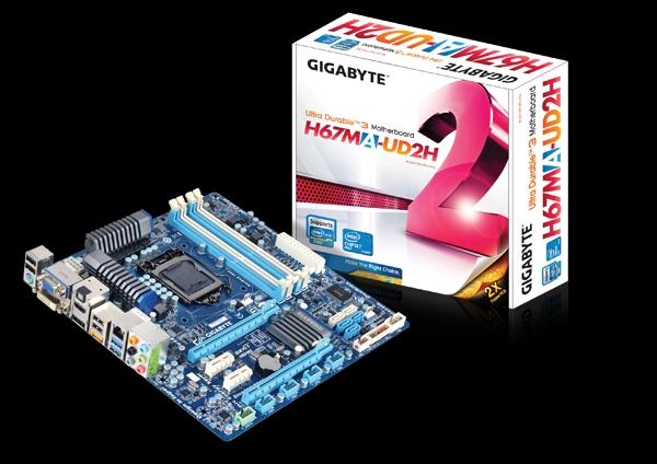 Gigabyte wznowił sprzedaż płyt głównych z chipsetem Intela H67 i P67