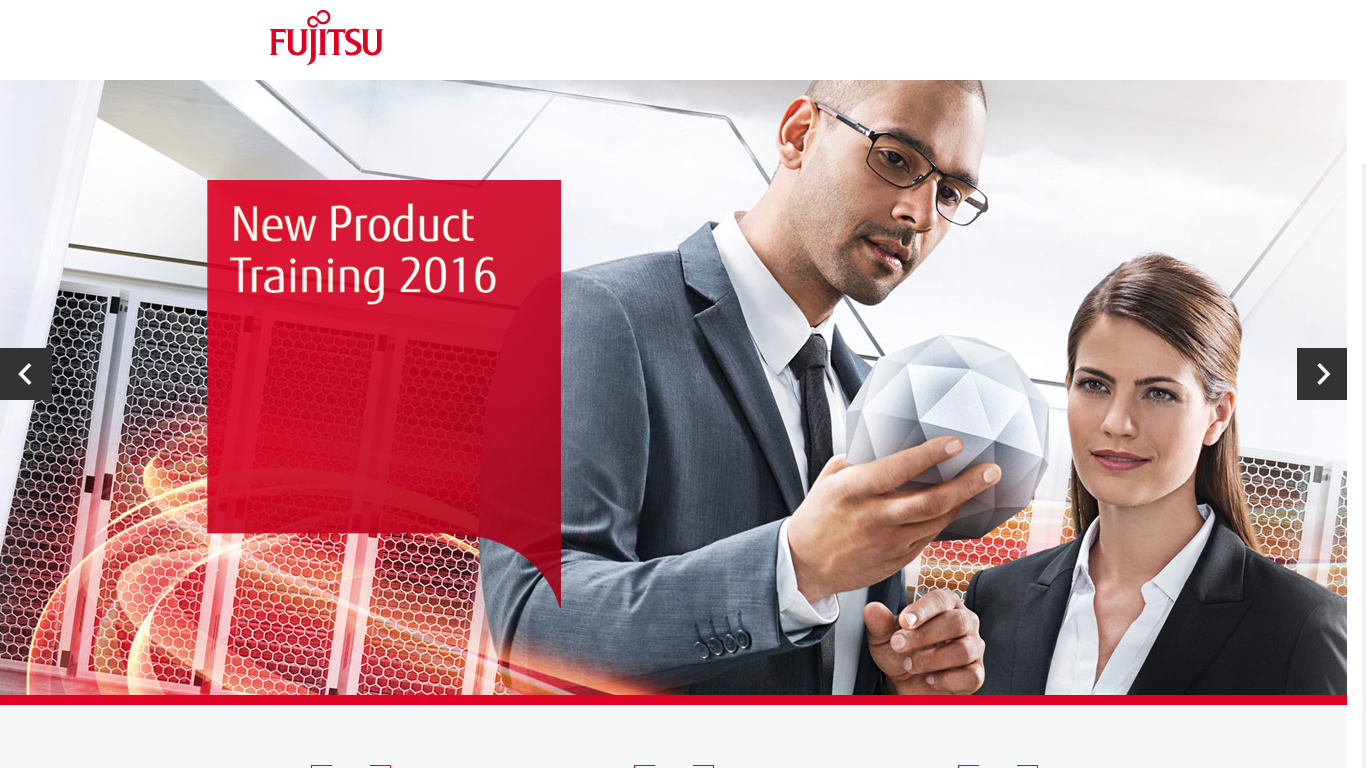 Fujitsu: New Product Training