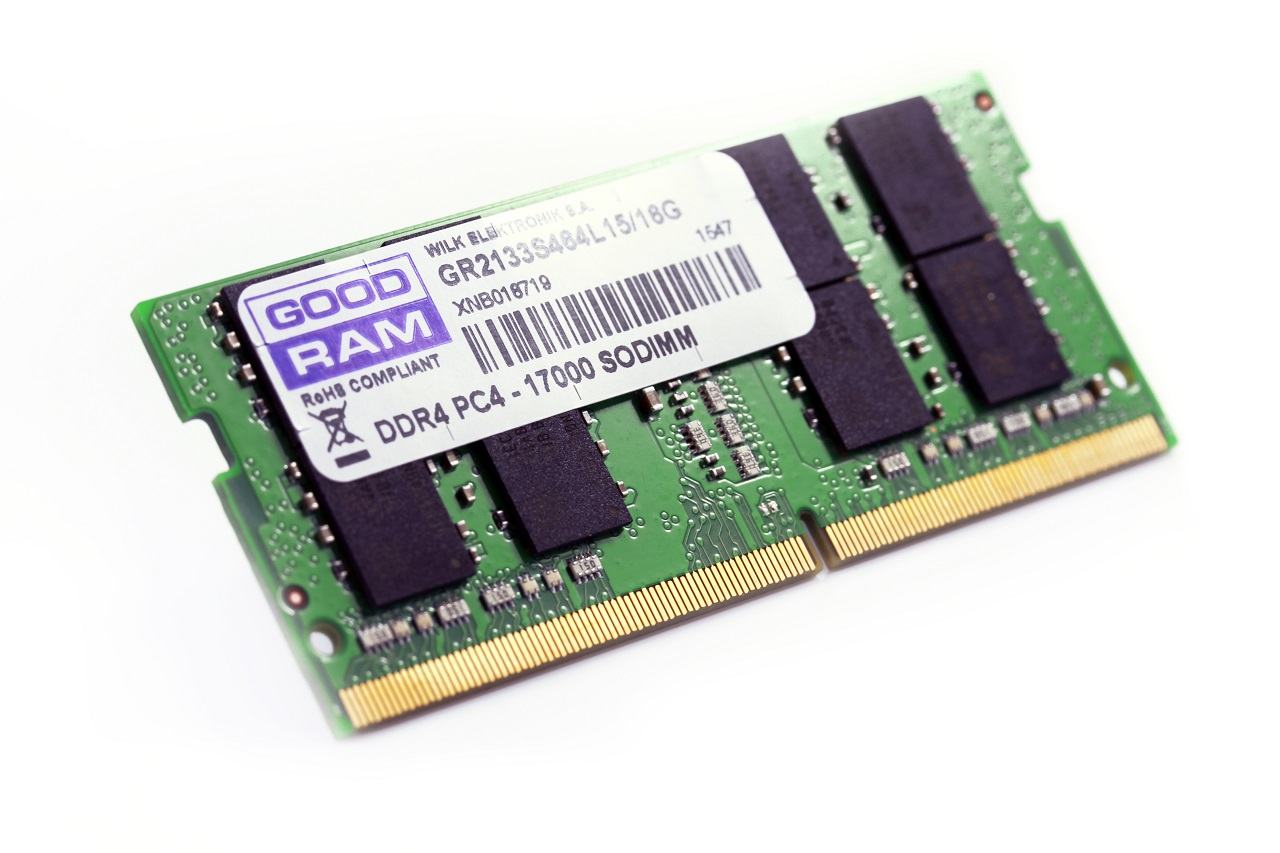 Goodram: DDR4 do notebooków